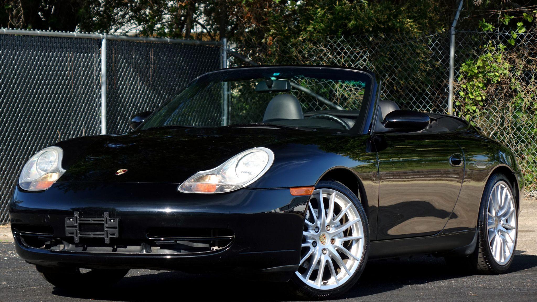 1999 Porsche 911 Carrera 4 Cabriolet 6 Speed Vin Wp0ca2996xs653258 Classic Com