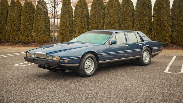 1984 Aston Martin Lagonda Saloon Vin Scfdl01s8etl13328 Classic Com