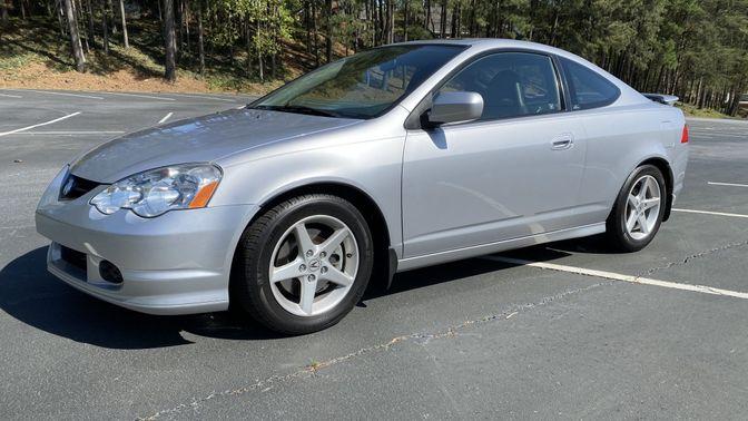 2002 Acura Rsx Type-S 6-Speed