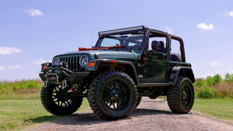 2004 Jeep Wrangler (Texas)
