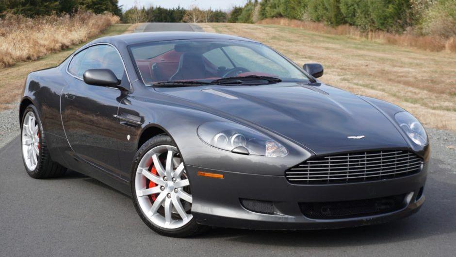 2006 Aston Martin Db9 Coupe Vin Scfad01a86ga05919 Classic Com