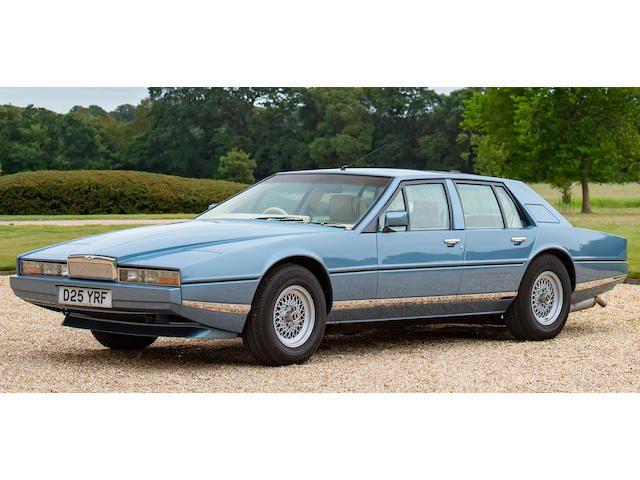 1986 Aston Martin Lagonda Series 3 Saloon