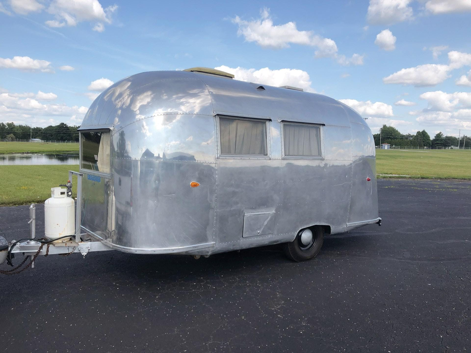 1960 Airstream Travel Trailer
