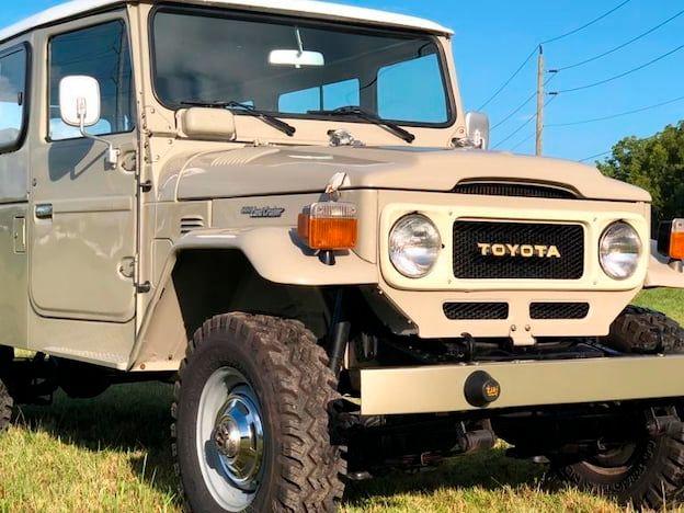 1985 Toyota FJ-45 Land Cruiser