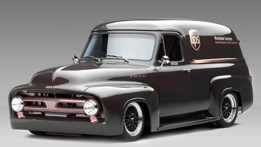 1953 Ford F100 Panel Van VIN: DMV53430CA - CLASSIC.COM