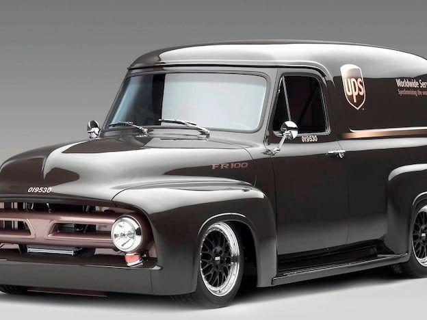 1953 Ford F100 Panel Van