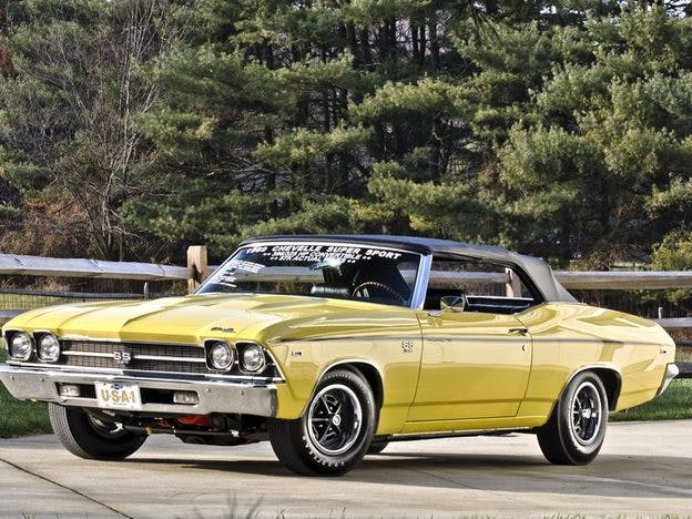 1969 Chevrolet Chevelle SS Convertible