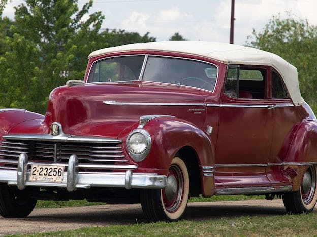 1946 Hudson Super Six Convertible
