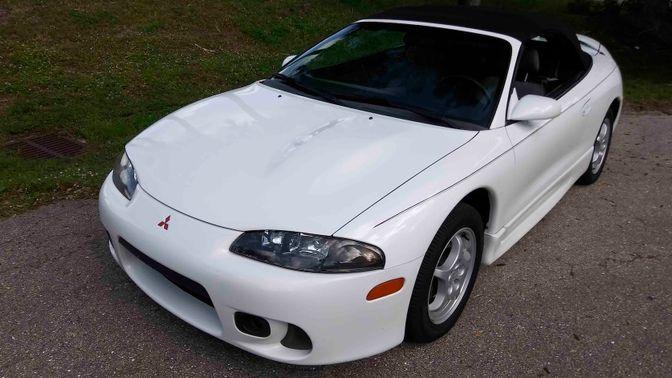 1999 Mitsubishi Eclipse GS Spyder