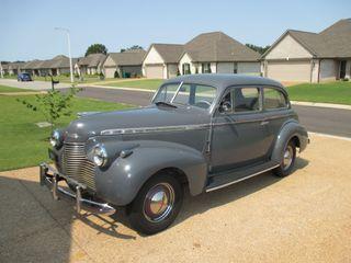 1940 Chevrolet Special Deluxe Two-Door Town Sedan
