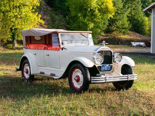 1924 Flint E-55 Touring Sedan Convertible
