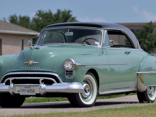 1950 Oldsmobile 88 Deluxe Holiday Coupe