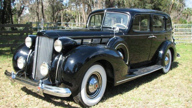 1938 Packard Super Eight Touring Sedan