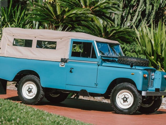 1962 Land Rover Série II 109 Bâché
