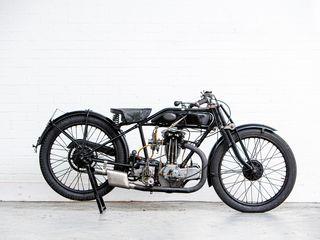 1927 Ajs 349CC Model H6 'Big Port'
