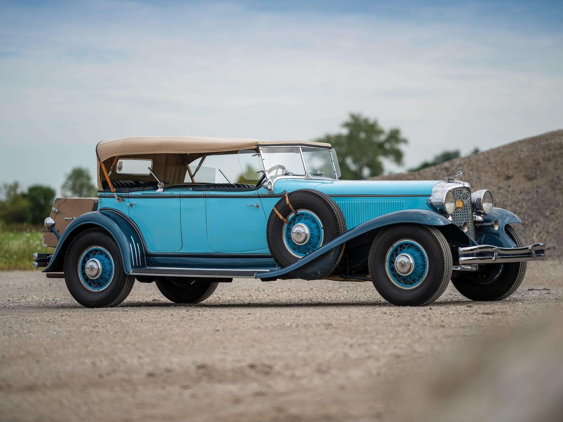 1931 Chrysler Cg Imperial Dual-Cowl Phaeton in the Style of LeBaron