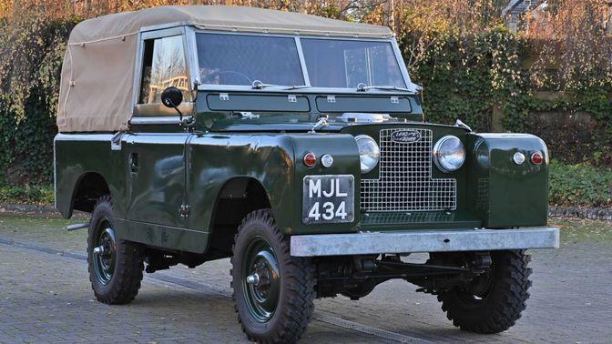 1958 Land Rover Series II SWB