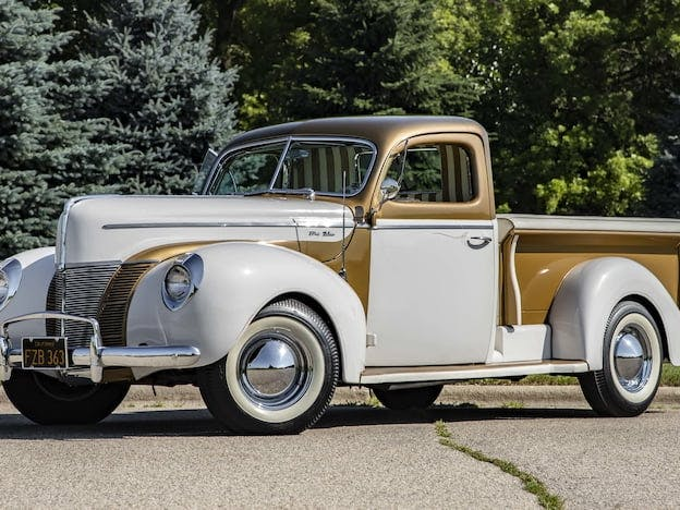 1937 Ford Fomoco Freighter Pickup