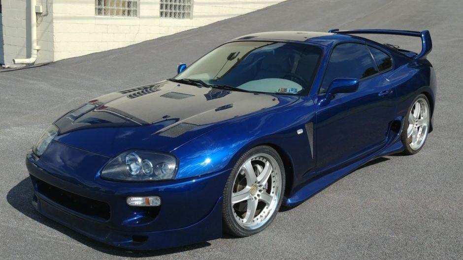 1993 Toyota Supra Turbo Sport Roof 6-Speed