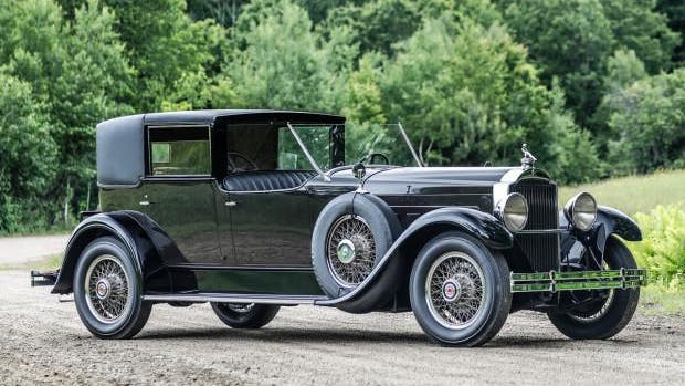 1929 Packard Deluxe Eight 645 Town Car