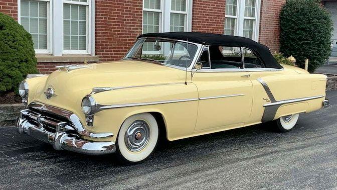 1952 Oldsmobile 98 Convertible