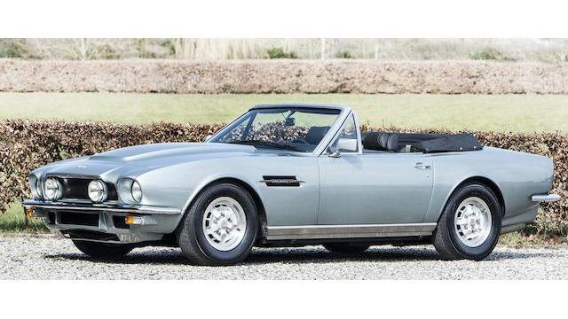 1980 Aston Martin V8 Volante Vin V8col 15191 Classic Com