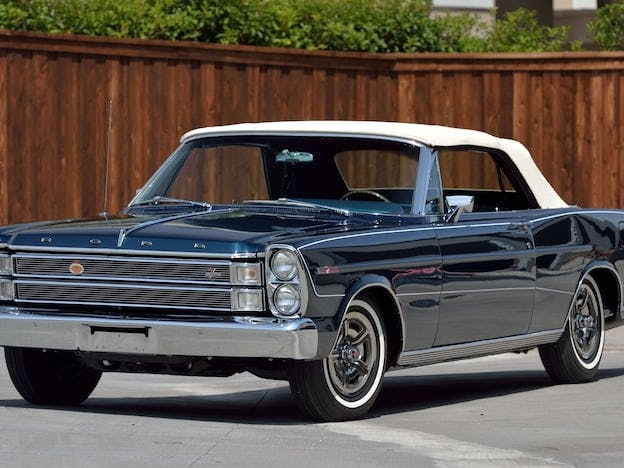 1966 Ford Galaxie 500 7-Litre Convertible