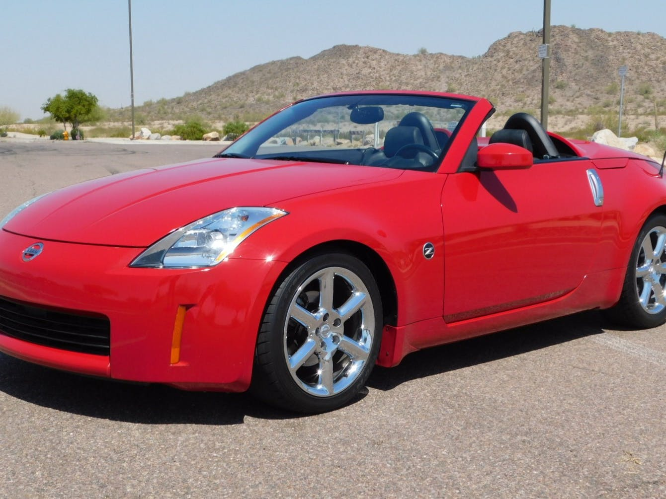 2004 Nissan 350Z Touring Roadster 6-Speed