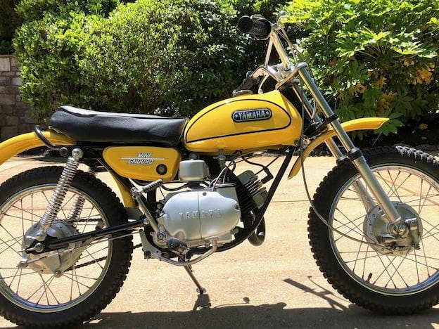 1972 Yamaha JT1 Mini