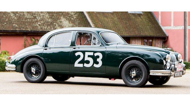 1957 Jaguar MK1 3.4-Litre Sports Saloon