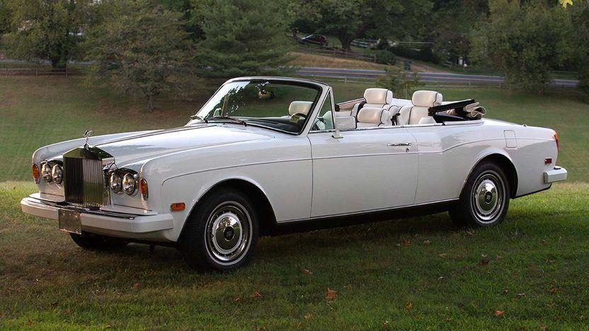 1993 Rolls-Royce Cornish Iv Convertible