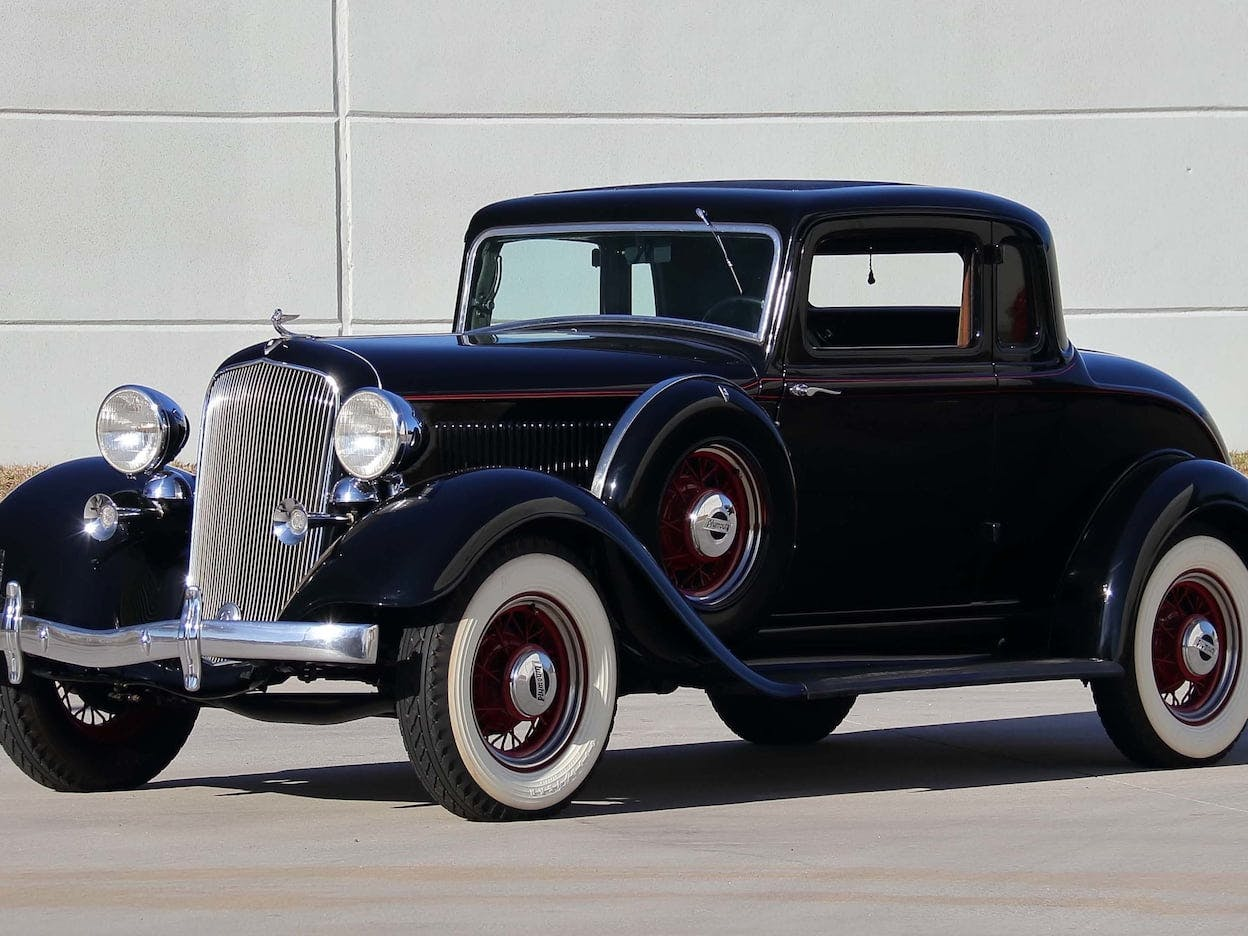 1933 Plymouth 5-Window Coupe