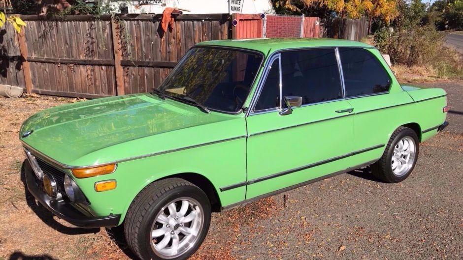 1976 BMW 2002 4-Speed