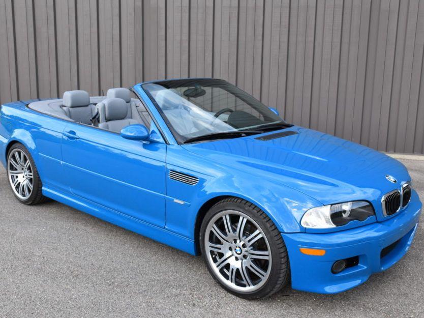 2002 BMW M3 Convertible SMG