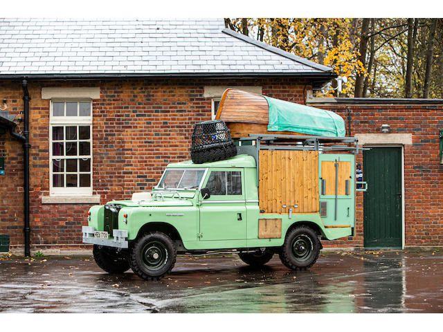 "1982 Land Rover 109"" 4X4 'Gastrowagon'"