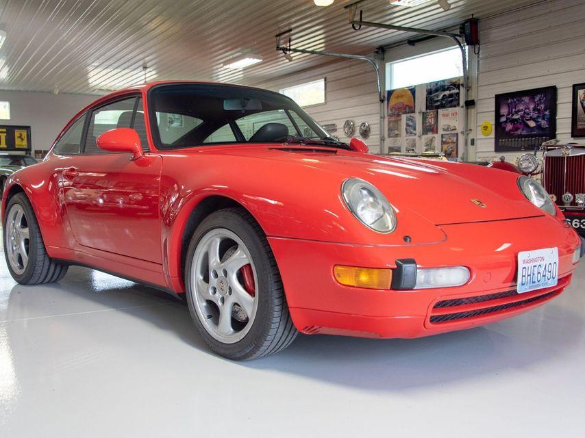 1995 Porsche 993 Carrera 4 Coupe