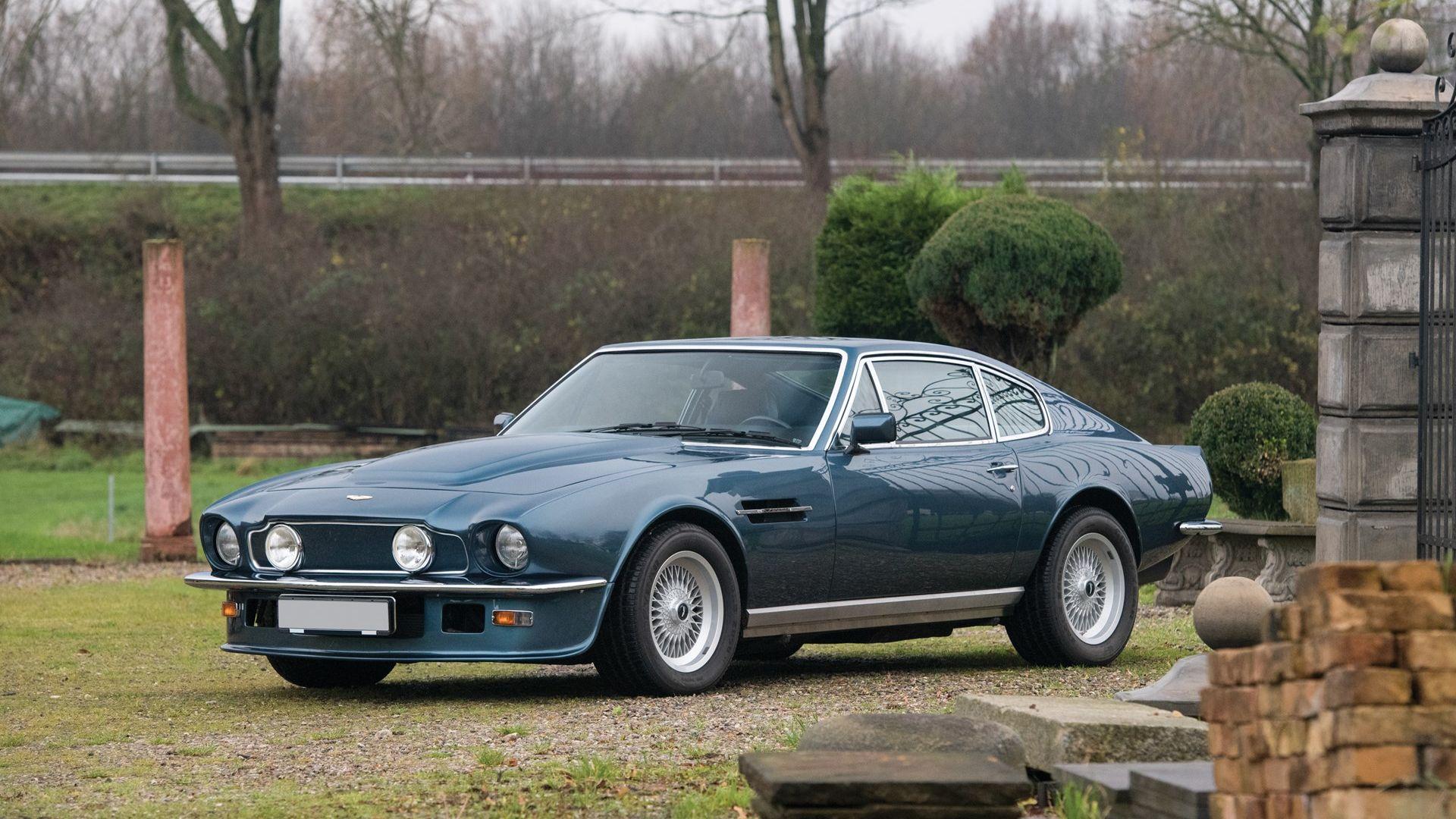 1979 Aston Martin V8 Vantage Oscar India Vin V8 Vol 12117 Classic Com