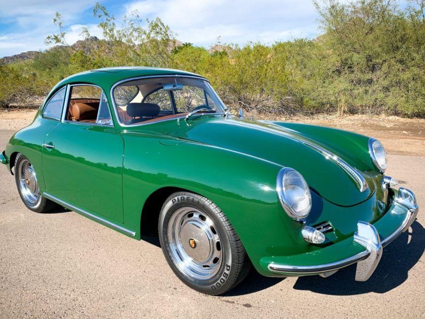 1965 Porsche 356C Sunroof Coupe