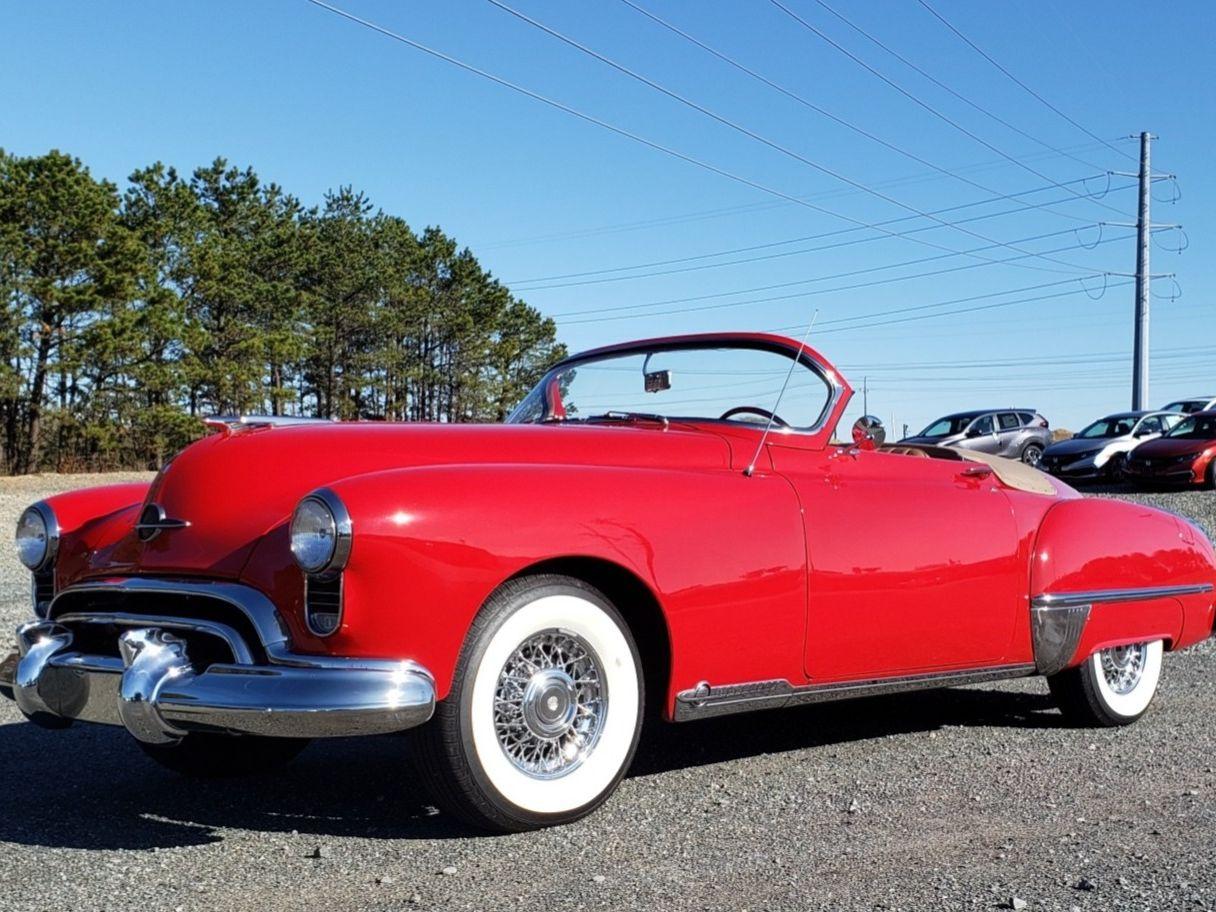 1949 Oldsmobile Futuramic 98 Convertible
