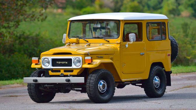 1980 Toyota FJ-40 Land Cruiser
