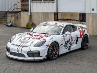 2016 Porsche (981) Cayman GT4 - Race Car