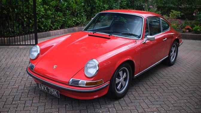 1972 Porsche 911 E 2.4 (Lhd)