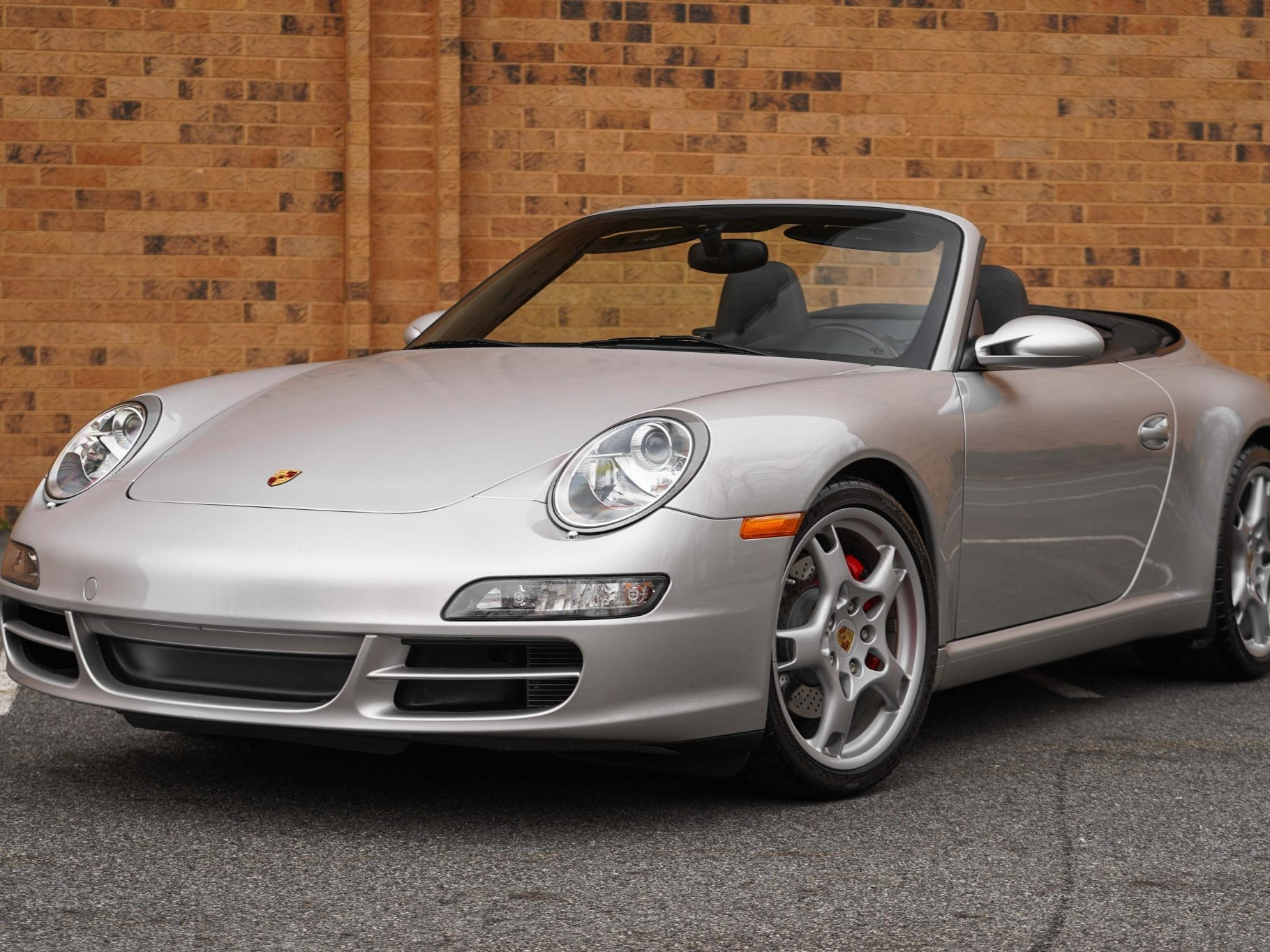 2007 Porsche 911 Carrera S Cabriolet 6-Speed