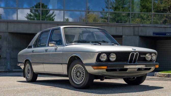 1975 BMW 520i 4-Speed