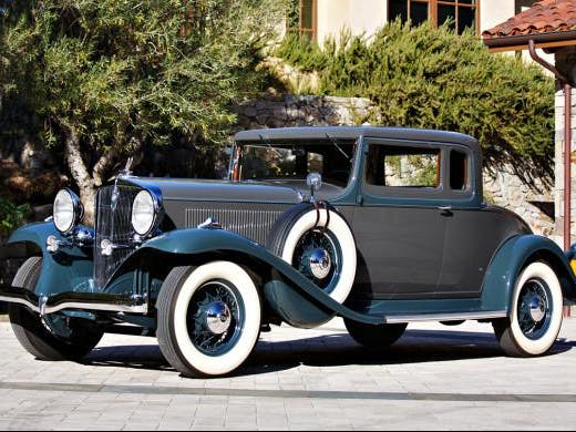 1932 Studebaker President State Coupe sold at Gooding Scottsdale (2020) -  CLASSIC.COM
