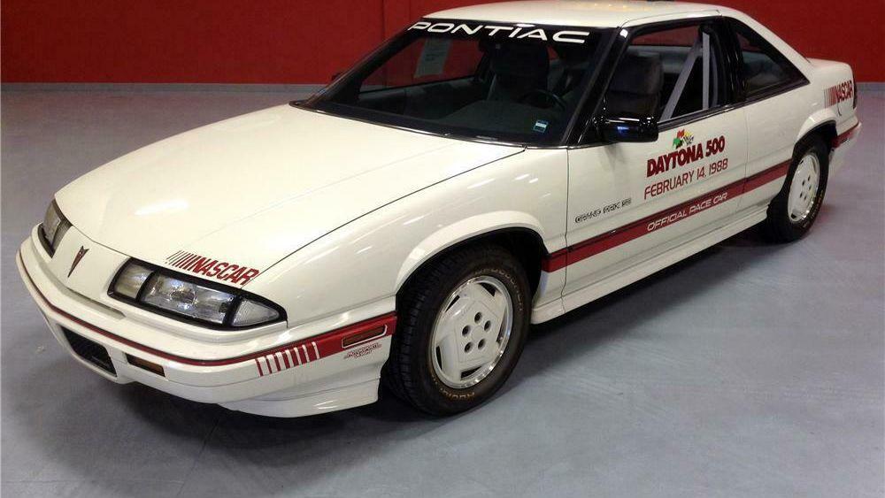 1988 pontiac grand prix daytona 500 pace car vin ex5189 classic com 1988 pontiac grand prix daytona 500