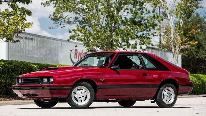 1983 Mercury Capri RS
