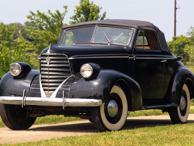 1938 Oldsmobile F38 Convertible