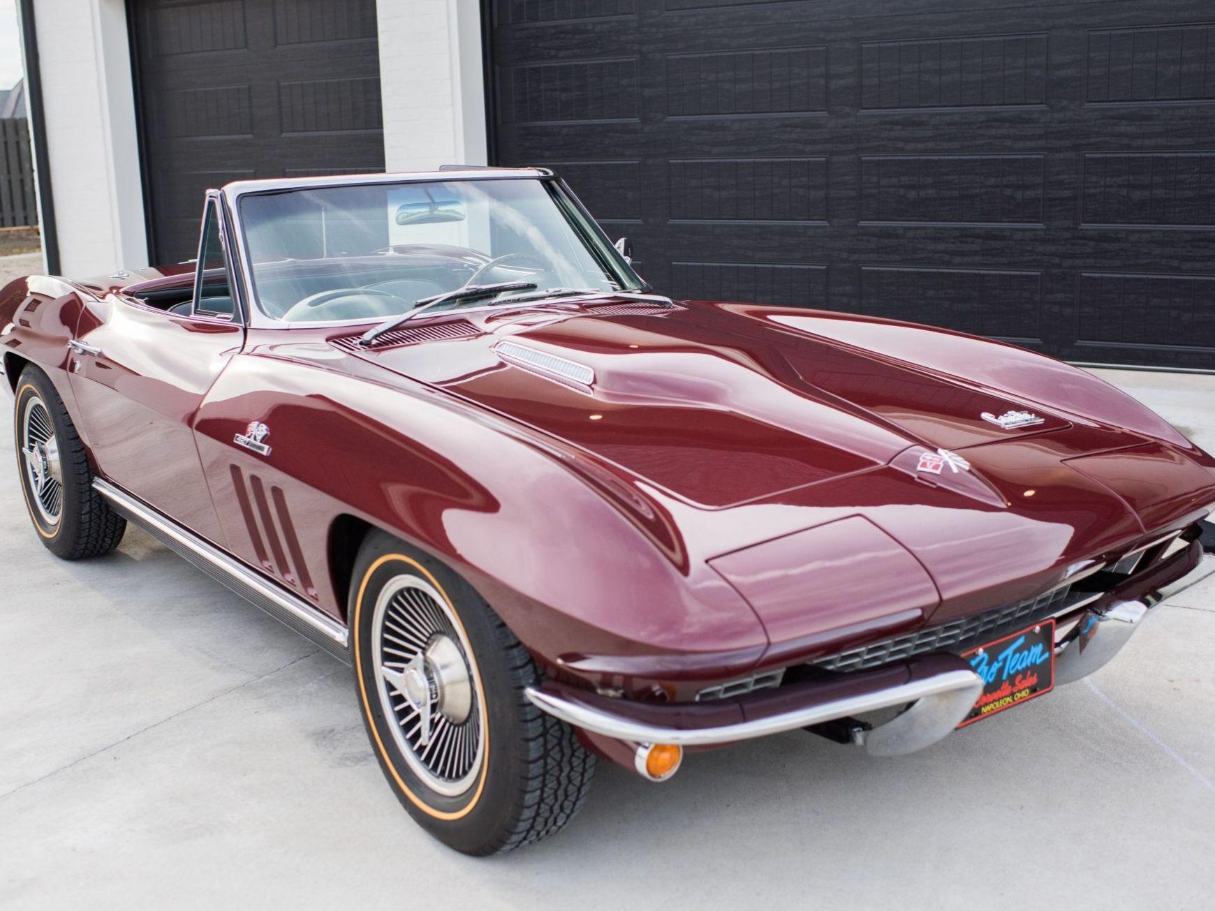 1966 Chevrolet Corvette Convertible 427/390 4-Speed