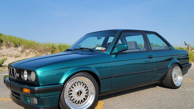 1991 BMW 325i Coupe